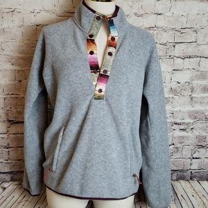 EUC Burton Pullover Fleece Size M